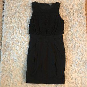 Allen B. Black Sleeveless Dress Size 8